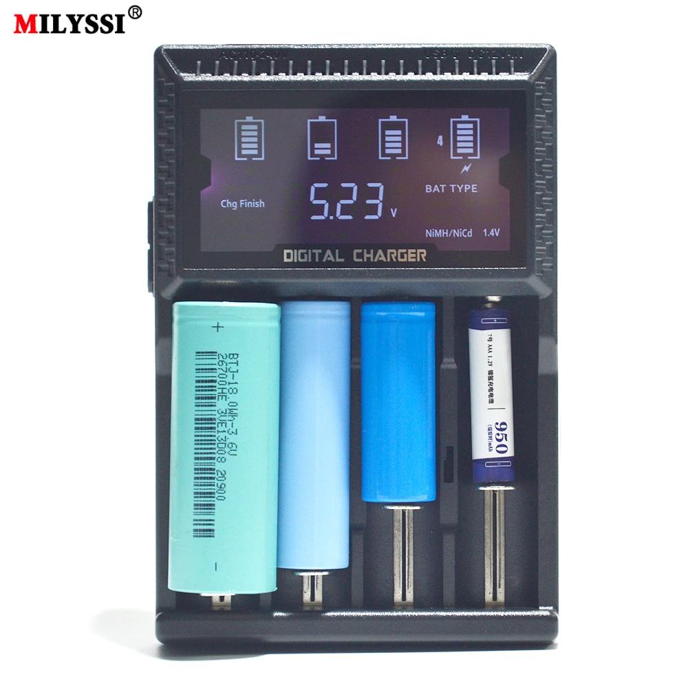 Chargeur de batterie pour 18650 14500 18500 21700 AAA chargeur USB intelligent pour iPhone usb QC2.0 QC3.0 chargeur rapide pour samsung pour HuaweiChargeur de batterie pour 18650 14500 18500 21700 AAA chargeur USB intelligent pour iPhone usb QC2.0 QC3.0 chargeur rapide pour samsung pour Huawei