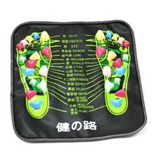 Chinese Health Care Reflexology Foot Walk Stone Massager Mat Foot Leg Pain Relieve Relief Acupressure Pad massageador style foot massage pad tpe modern acupressure reflexology mat acupuncture rugs fatigue relieve promote circulation gifts