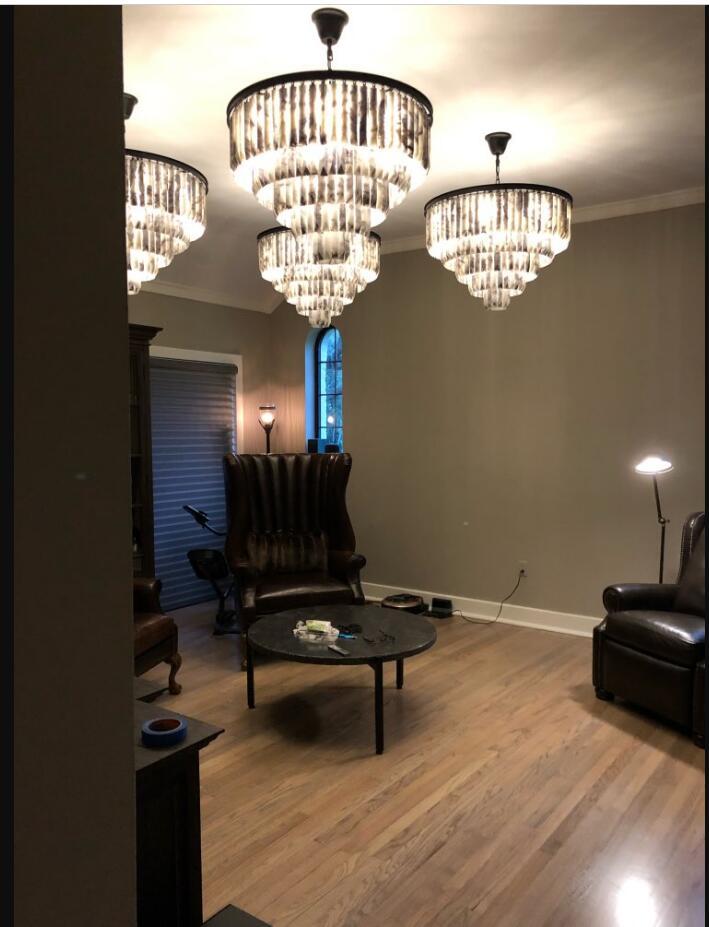 Candelabro de mármol lámpara de sala de estar lámpara de ingeniería lámparas personalizadas candelabro de alta calidad