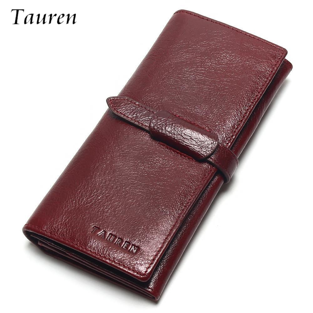 Brand Women Wallets Dollar Purse Genuine Leather Wallet ...