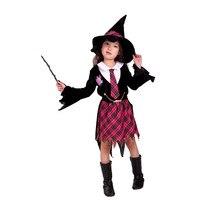 هالوين الملابس الحزب كرنفال الفتيات اللباس الأطفال تأثيري ليتل الساحرة زي العبرة أكاديمية الطفلة الدعاوى