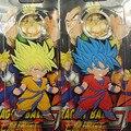 Chaveiro de Dragon Ball Z Super Saiyan Goku Forma Dos Desenhos Animados Anime Chaveiro Carro Figura de Ação DO PVC Brinquedos Pingente de Silicone