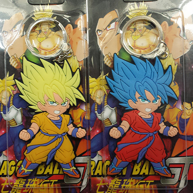 Dragon Ball Z llavero Super Saiyan Goku dibujos animados anime moda ...