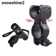Snowshine2 #3001 Факел Клип Гора Велосипед Передний Свет Кронштейн Фонарик Держатель 360 Вращение бесплатная доставка оптовая