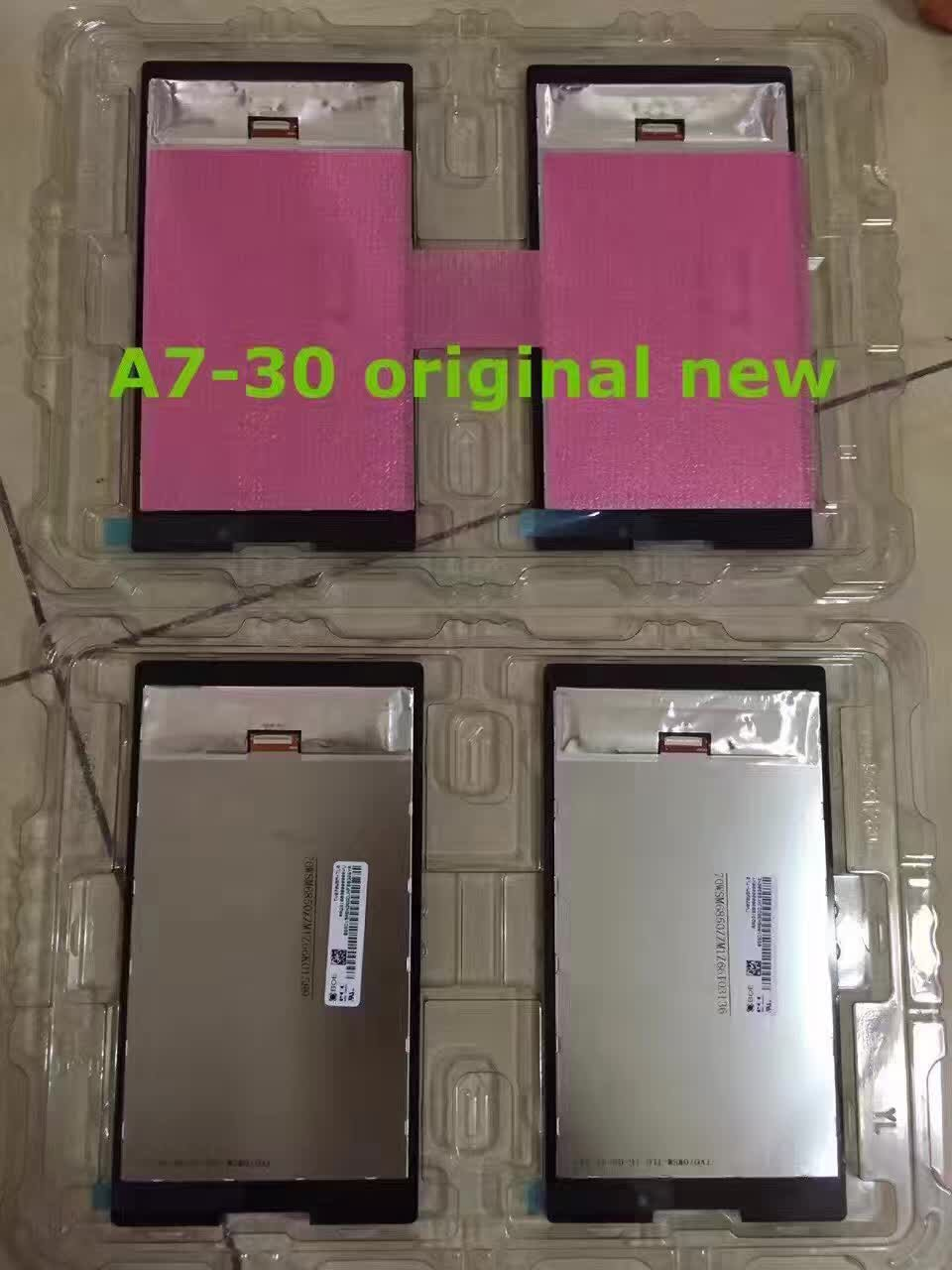 цена на For Lenovo TAB2 A7-30TC A7-30HC outer screen glass touch screen LCD touch screen assembly