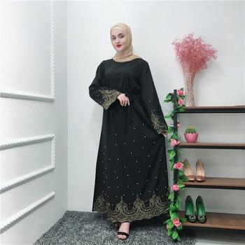 62a3c486fac Рамадан нарядное платье в арабском стиле Исламская Абая кимоно ...