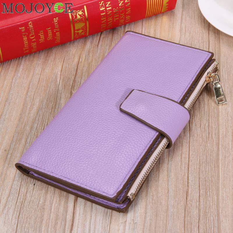 PU Leather Women Wallets All-Match Large Capacity Zipper Purse With Card Holder Money Bag Coin Purse Passport Holder Long Wallet large capacity famous brand wallets card holder clutch bag fashion women long purse stars printing pu leather bifold wallet
