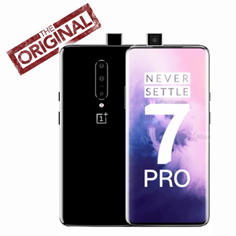 Global ROM Oneplus 7 Pro Smartphone 6.67 Inch 3120*1440 Android 9 Snapdragon 855 48.0 MP Cameras NFC 5V 6A Mobile Phone