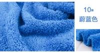 10 Blue 1 Meter Berber Fleece Fabric CamoFleece Shu Velveteen For DIY Toys Sleepcoat Pajamas Nighty
