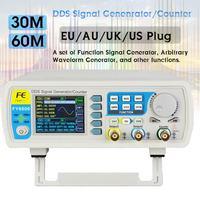 FY6800 Dual channel Digital Signal generator DDS Frequency Function Generator Arbitrary Waveform Generator 250MSa/s 14bits 60MHz