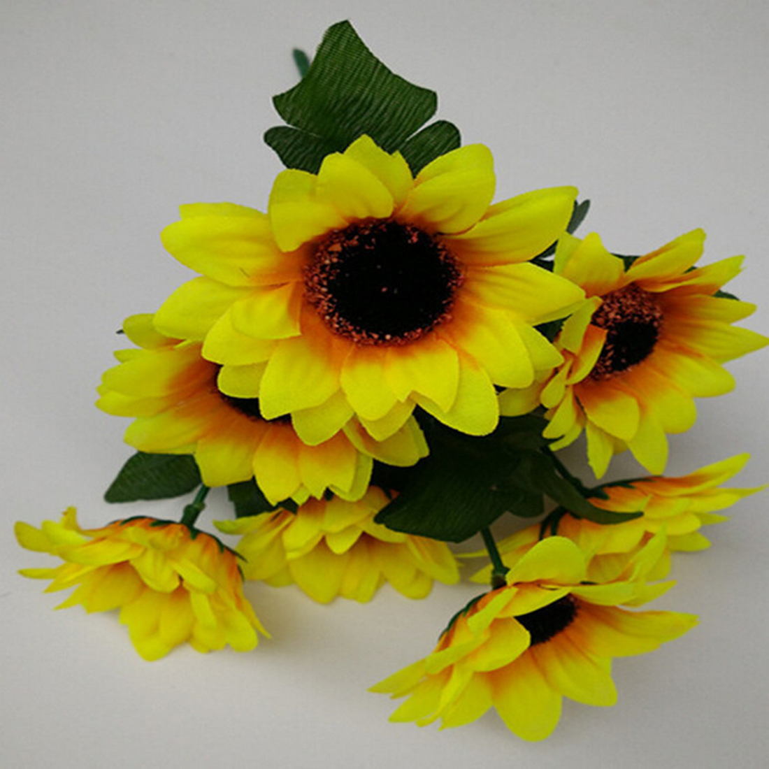Simulation Sunflower Bouquet Diy Artificial Flowers Retail 1 Bouquet