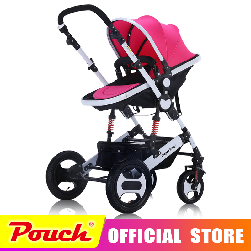 Dragon Strollers can sit lie folded shock Ultra Portability summer bb baby child children high landscape stroller free delivery baby stroller ultra light portable shock absorbers bb child summer baby hadnd car umbrella