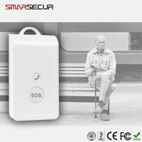 Wireless Emergency SOS button panic button smart alarm system Voice monitor