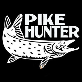 Pegatina Pike Decal Angling Tackle Shop Hollow Sticker Fish Fishing Boat Car Window Vinyl Decal Funny Poster Motorcycle