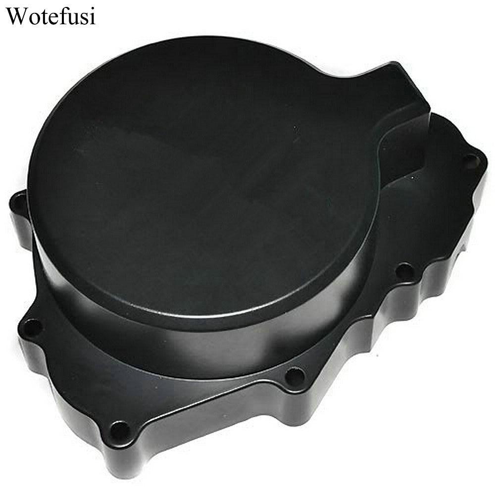 Wotefusi мотор черный статора крышки двигателя для CBR600 Ф4/F4I 99-06 [MT13]
