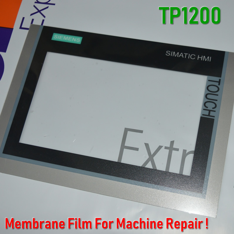 6AV2144-8MC10-0AA0 TP1200 Membrane Film+Touch Glass For SIMATIC HMI Panel Repair~do It Yourself, Have In Stock