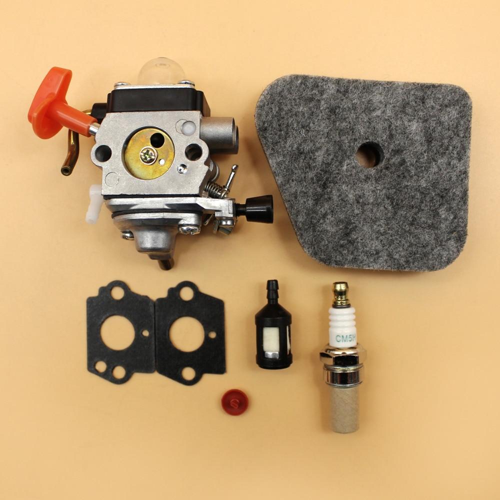 Carburatore Filtro Aria Kit di Servizio Misura STIHL FS87 FS90 R FS100 FS110 FS130 R FC 90 95 100 HL100 KM90 KM100 Strimmer parti