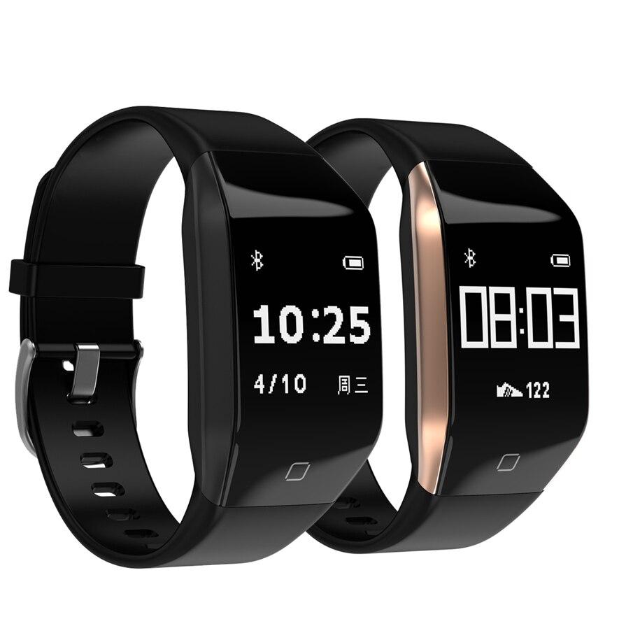 Bande à puce YD818 GPS montre 5ATM étanche bracelet sport Smart watch coeur taux smart bracelet longue attente pk fit bit mi bande