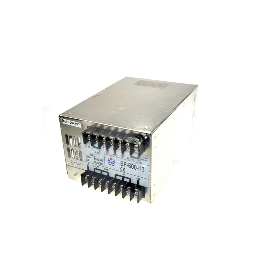 ac to dc 600w 12v 50A SP-600-12 SP series muIti terminaIs singIe output PFC Iarge Ied driver source swtching pwer supIy voIt new lp2k series contactor lp2k06015 lp2k06015md lp2 k06015md 220v dc