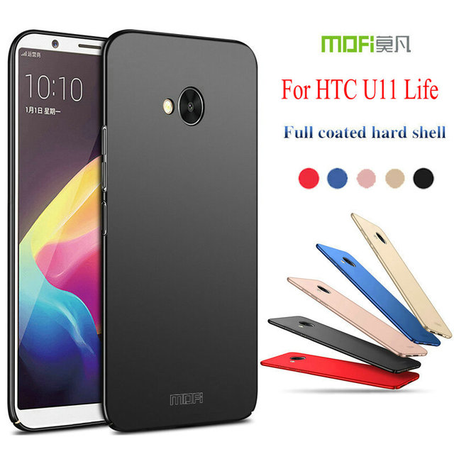 new styles 8a4f5 bab2a US $6.65 |MOFI 360 Full Protective Ultra thin Slim Matte Hard Back Cover  for HTC U11 Life (5.2inch) Phone Fundas Capas Shell-in Fitted Cases from ...