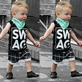 2016 Minnie Mouse Special Offer None Sleeveless Boys Vest Spiderman Baby Boy Toddler Clothes Outfit Set Tank Tops+plaid Pants