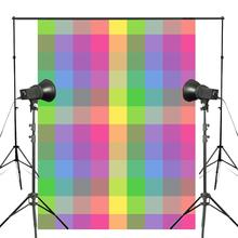 150x220cm Cute Colorful Checkered Photography Backdrop Abstract Background Kids Photo Studio Wall