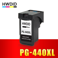 HWDID Black PG440 XL PG 440 PG 440 Refilled Ink Cartridge For Canon PIXMA MG2180 MG2240