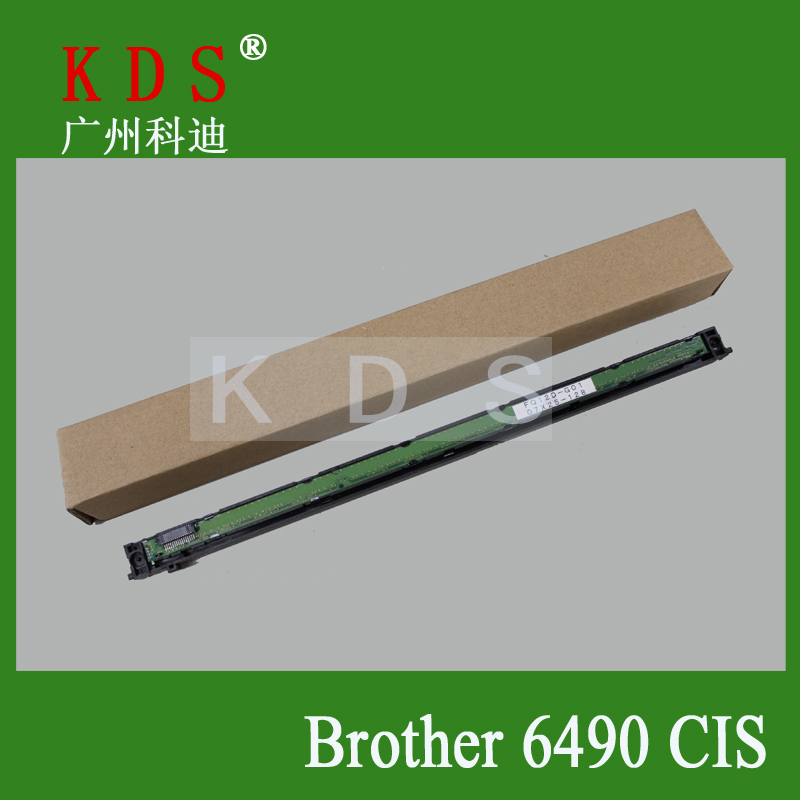 At Retail Printer Maintenance Parts Scanner For Brother 6490 CIS Sensor officejet parts Used Green high quality free shipping cis scanner for brother mfc 210c printer parts