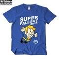 Взрослые Игры Fallout vault-tec 111 Pipboy спасти мир хлопка майка С Коротким Рукавом Fallout Топ Тройники