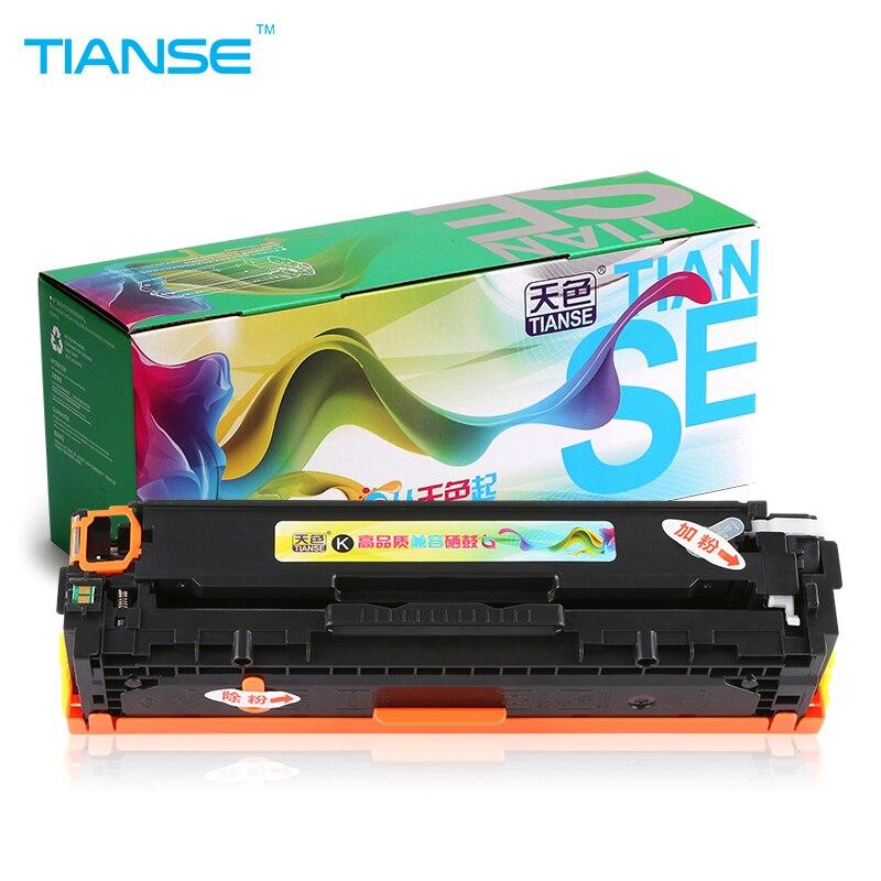 TIANSE 1x CB540A For HP125A CB541A CB543A 125A CB540 toner cartridge for HP LaserJet CM1300 CP1215 CP1515n CP1518ni CM1312 LaserTIANSE 1x CB540A For HP125A CB541A CB543A 125A CB540 toner cartridge for HP LaserJet CM1300 CP1215 CP1515n CP1518ni CM1312 Laser