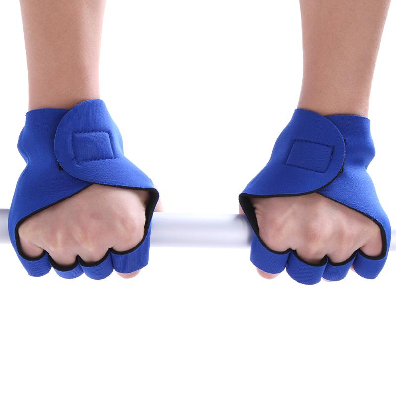 Gym-Glove Dumbbell Weight-Lifting Hand-Protection Exercise Half-Finger Fitness Anti-Skid