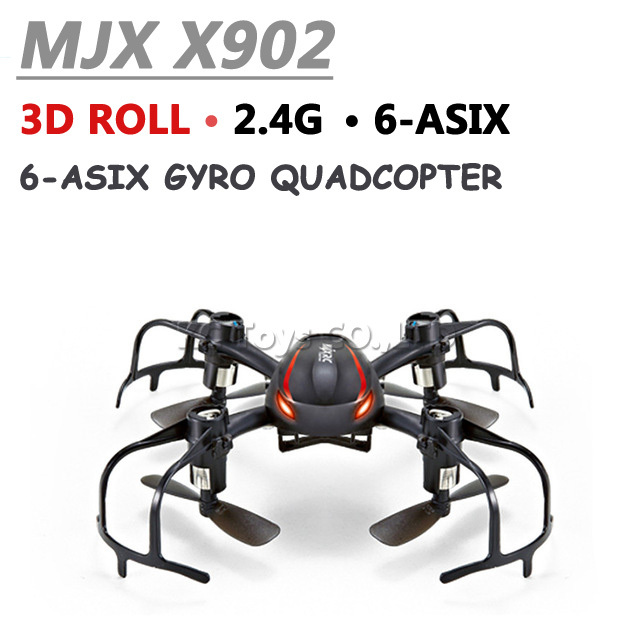 New Arrivals MJX X902 Mini rc drones 2.4G 4CH 6-Axis with inverted flight rc helicopter drone quadcopter vs jjrc H8 mini