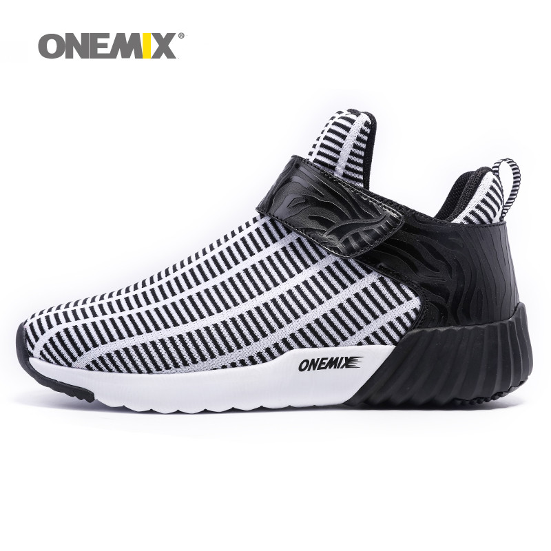 Newest Onemix warm height increasing shoes winter men & women sports shoes outdoor men