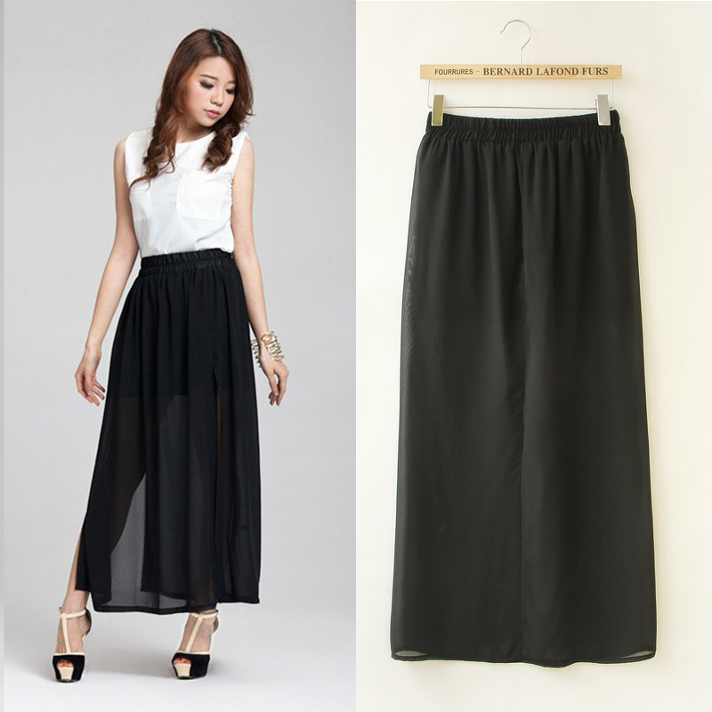 Black A Line Denim Skirt 2017 | Dress Ala - Part 580