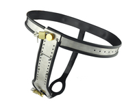 stainless steel female chastity belt bdsm bondage restraints chastity device metal chastity belt female sex toys for women