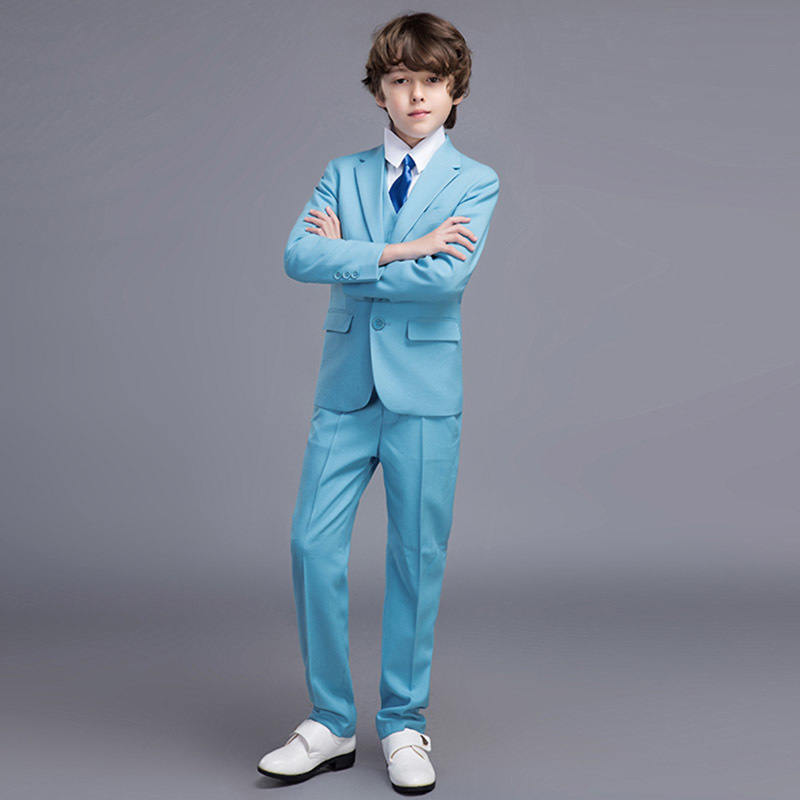 High Quality Elegant Honorable Costume Garcon Mariage Worsted Custom Color Regular Special Wedding Boys' Attire XY010