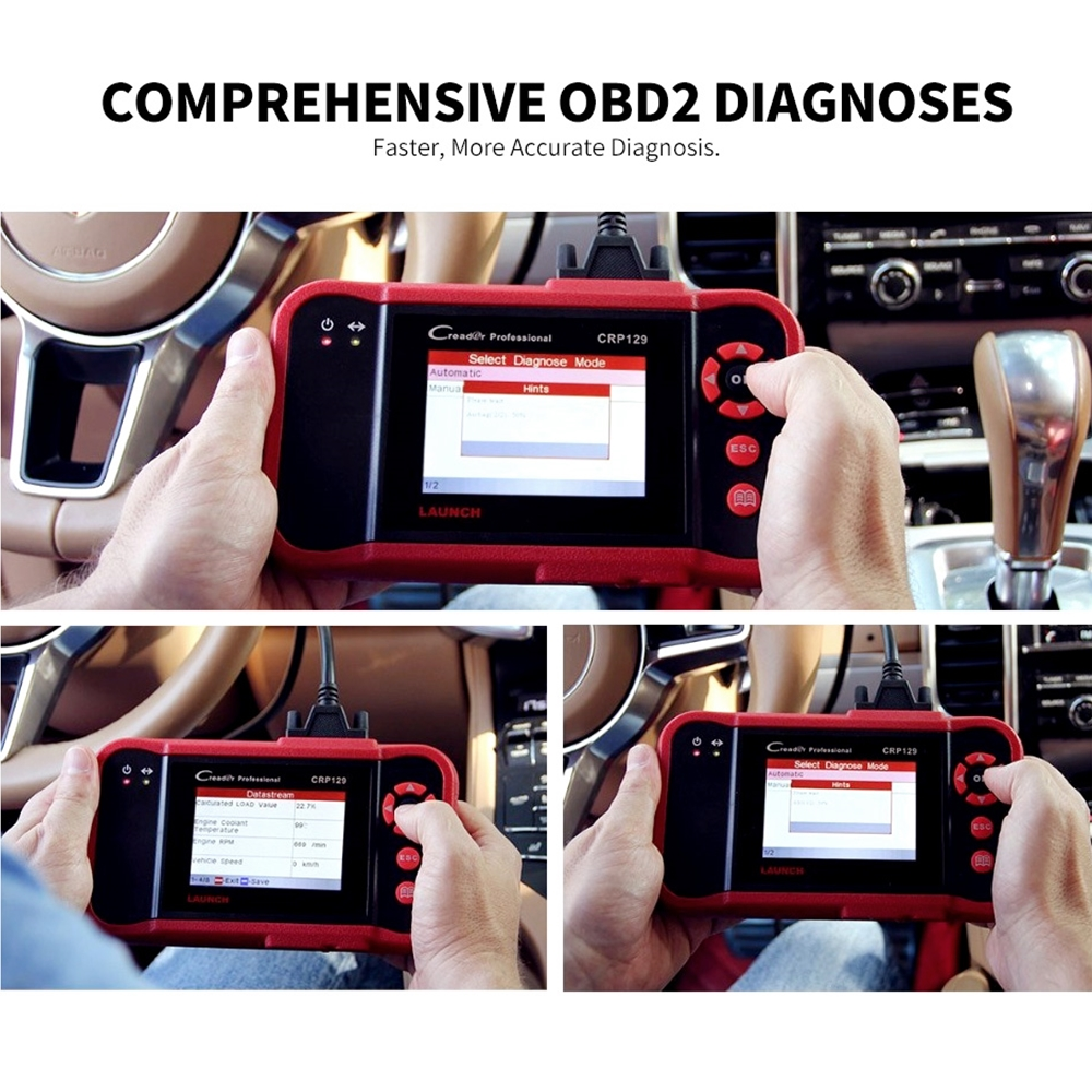 Image 5 - Original Launch Creader 129 CRP129 OBD2 Code Reader CRP 129 OBDII Scanner PK X431 Creader VIII CRP123 Auto Diagnostic Tool on