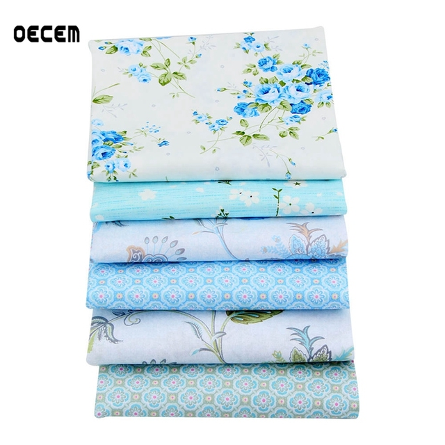 Handicraft Fabric New Floral Printed Pattern Cotton Quilting Fabric