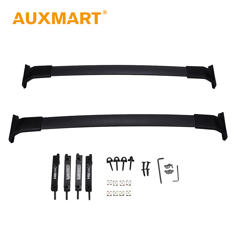 Auxmart Car Roof Rack Cross Bar for Mazda CX5 2013~2016 Auto Rooftop Racks Load Cargo Luggage Carrier 60kg Easy fit Removable car styling auto roof rack side rails bars baggage holder luggage carrier aluminum alloy for ford escape kuga 2013 2014 2015