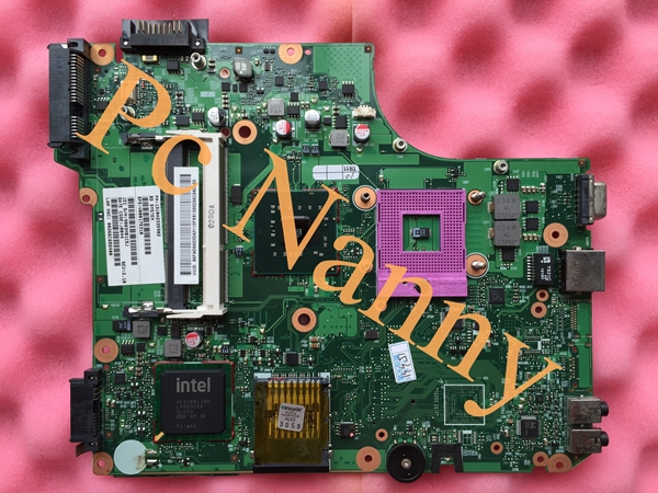 On sale V000175310 laptop motherboard for Toshiba L510 system board integrated DDR3 gl40 Full Tested + Free cpu