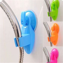 Home Bathroom  Vacuum Holder Wall Suction Cup Wall Mount Adjustable Shower Head Holder Bathroom  Accessories