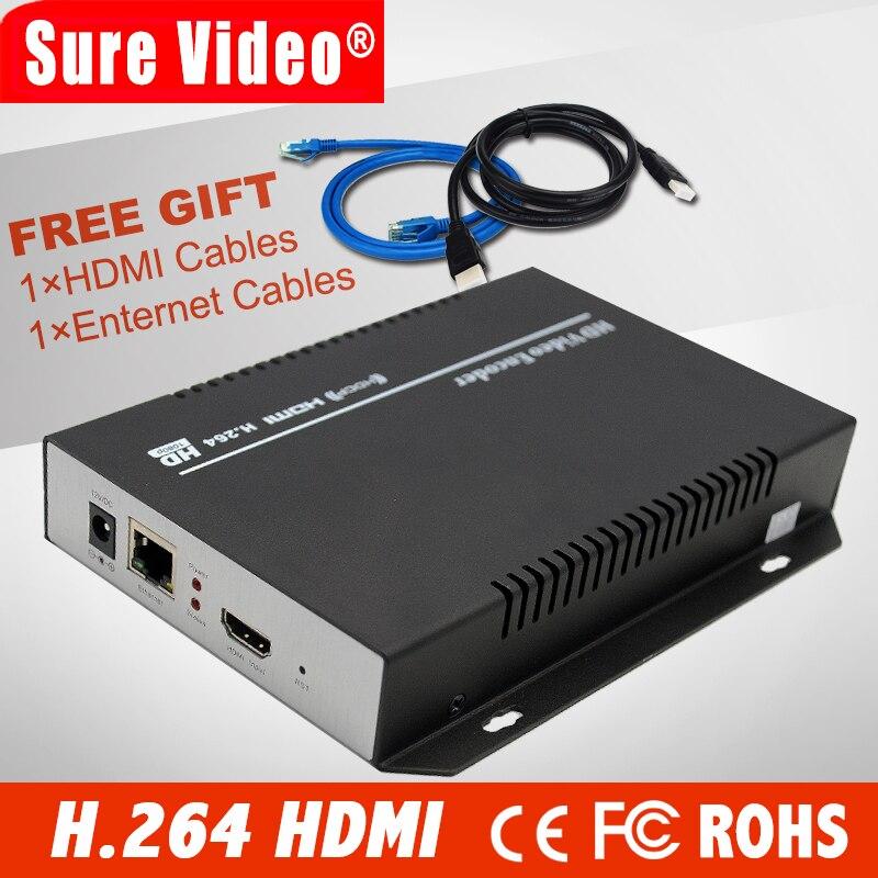 DHL livraison gratuite encodeur MPEG4/H.264 IPTV hd/encodeur HD HDMI pour IPTV/ONVIF/RTMP, diffusion en direct, serveur multimédia