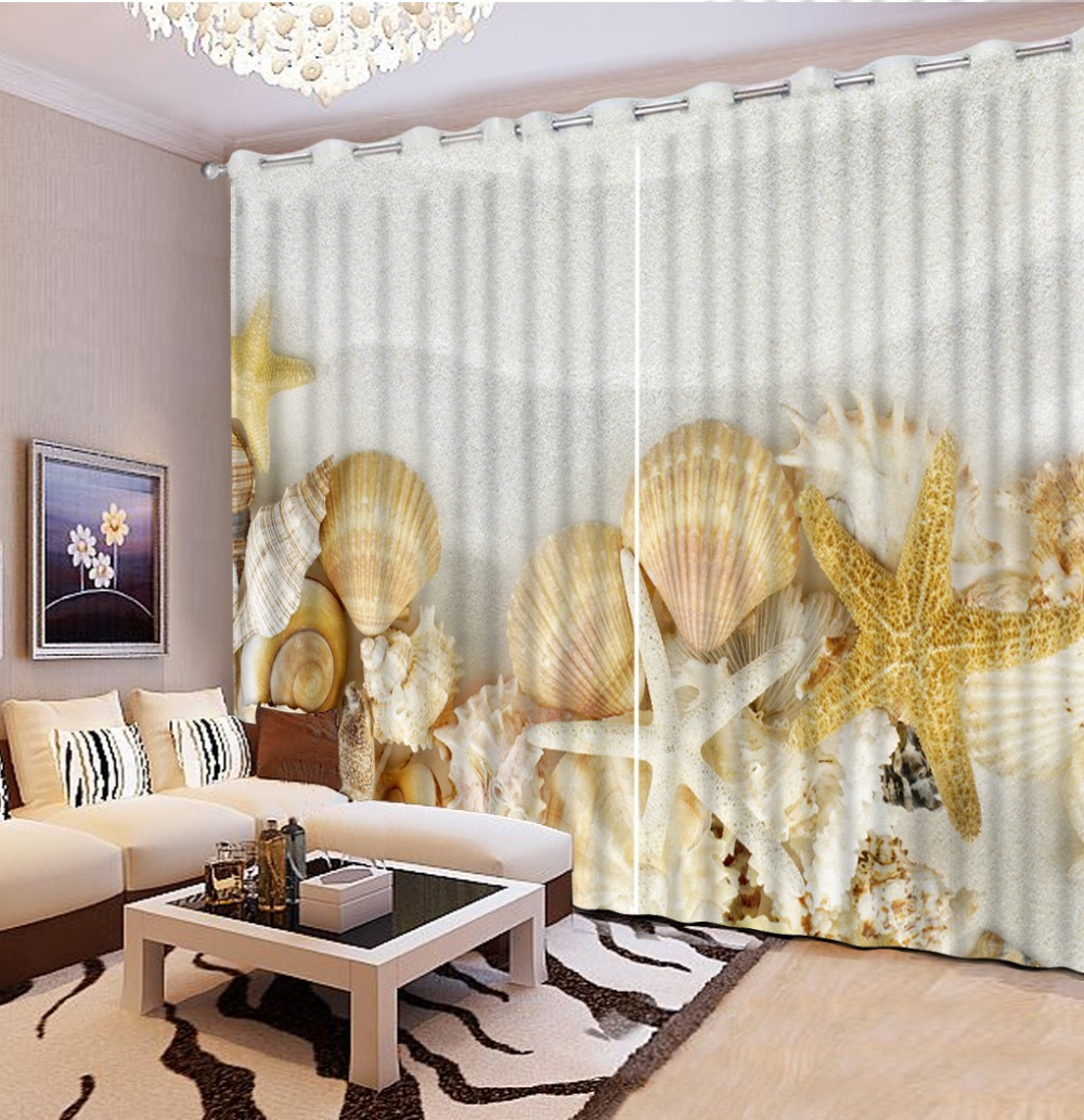 Popular Beach Window Curtains-Buy Cheap Beach Window Curtains lots ...