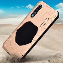 IMATCH funda impermeable Original para Huawei P20 / P20 Pro, funda de silicona de Metal de lujo, funda protectora completa 360