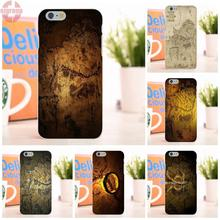 EJGROUP Map The Lord Of The Rings Stunning Soft TPU Silicon Skin Paintin For Apple iPhone 6 6S 4.7 inch