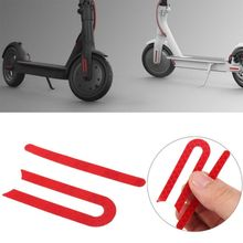 1 Pc Scooter Reflective Sticker Red Warning Front Rear Wheel Protection Parts For Xiaomi MIJIA M365 Electric Skateboard