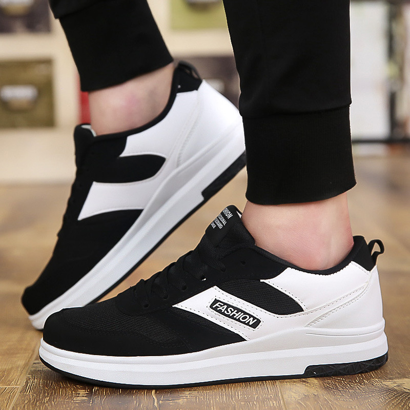 Sneakers Zapatos Zapatillas Black Lace Up Qet677 Sneakers Para Caminar white red Casual Sneakers Tenis Hombres Z6wCx5qq