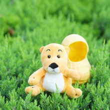 Juguete de peluche de dibujos animados lindo del cacahuete del ratón Ardilla Chipmunk pequeño creativo decorativo de la muñeca del regalo del cumpleaños del animal de peluche