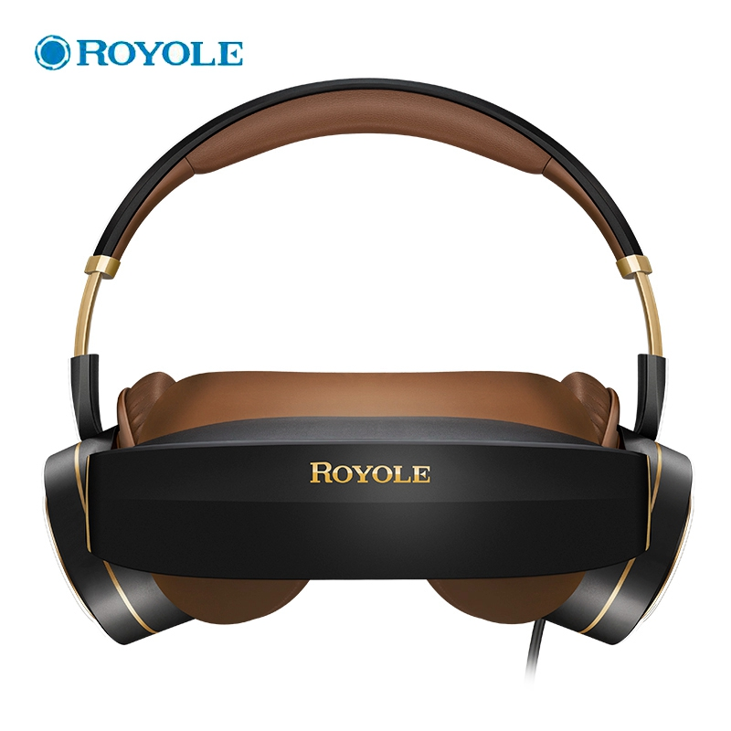 328 Limited-time!!! ROYOLE 3D VR Glasses All In One With HDMI With HIFI Headphones Touch Control 3D Virtual Reality Glasses