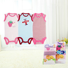 5 Pieces / Lot Carter Baby Vest Sleeveless Cotton Rib Cloth Triangle Romper / Climbing Clothes / Leotard